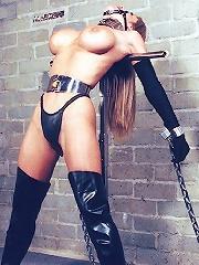 Cute Babe in BDSM
